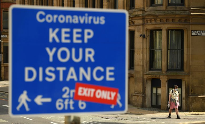 covid rates in Manchester