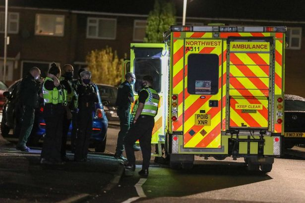 A teenage boy has been hospitalised after he was stabbed in the back.