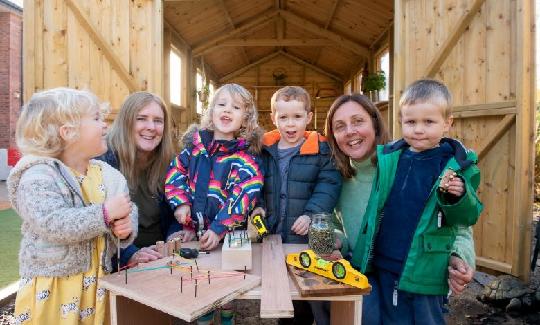 Back to the Garden launches innovative outdoor classroom